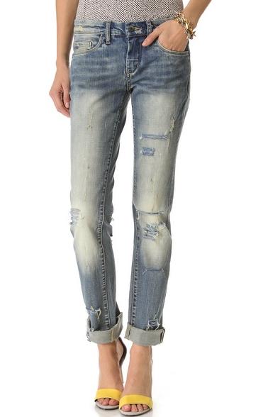 Blank boyfriend jeans