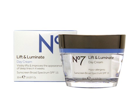 Boots no 7 lift & luminate day cream