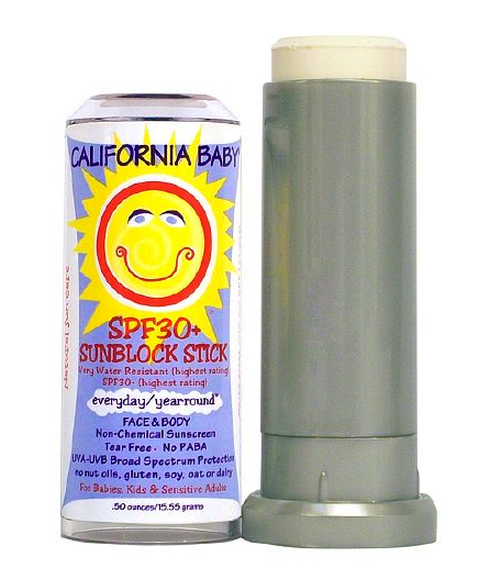 California Baby sunblock