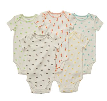 Carter's 5 pc onesies