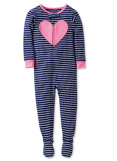 Carter's footed pajamas