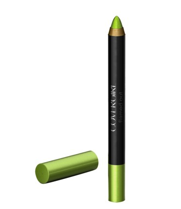 Covergirl eyeshadow pencil in lime green flame