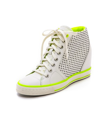 DKNY wedge sneakers