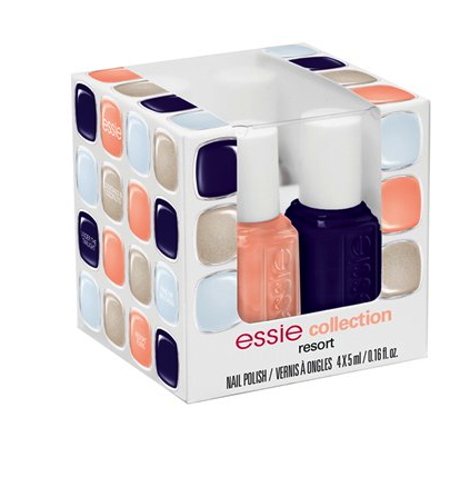 Essie resort fling four pack