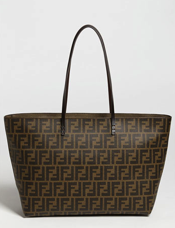 Fendi canvas tote