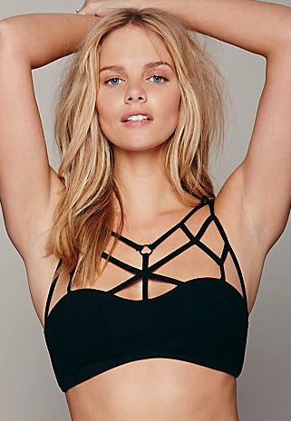 Free People strappy bra