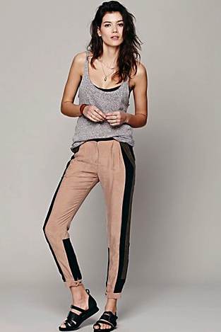 Free People track pants