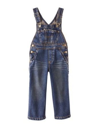 Genuine Kids from OshKosh overalls