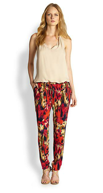 Haute Hippie silk pants