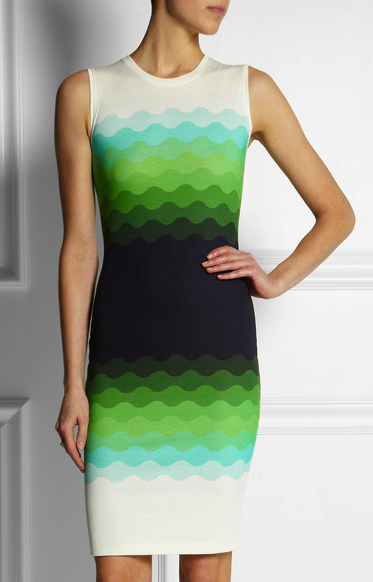 Jonathan Saunders color block dress