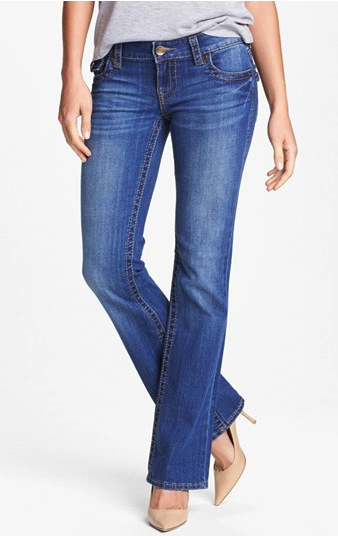 KUT from the Koth boot cut jeans