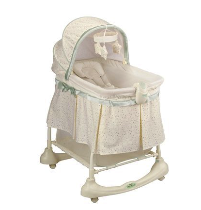 Kolcraft cuddle 'n care bassinet