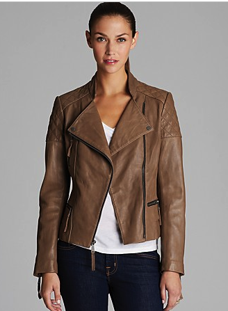 Kors by Michael Kors leather jacket