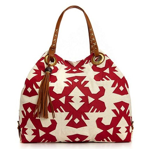 Lucky Brand canvas tote