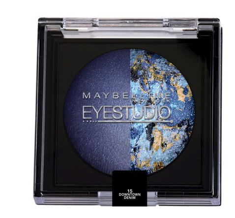 Maybelline eyestudio color pearls in downtown denim