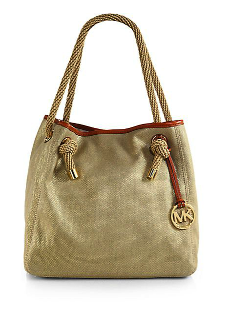 Michael Michael Kors canvase tote bag