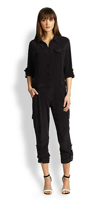 Milly Cargo jumpsuit