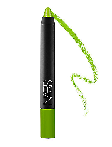 Nars soft touch shadow pencil in parrot green