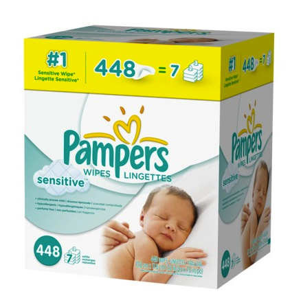 Pampers sensitive refill packs