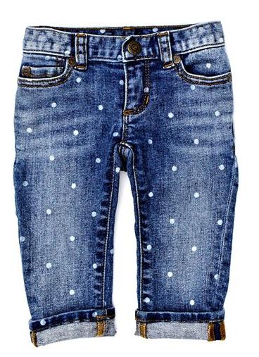 Peek baby jeans