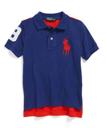 Ralph Lauren colorblock polo