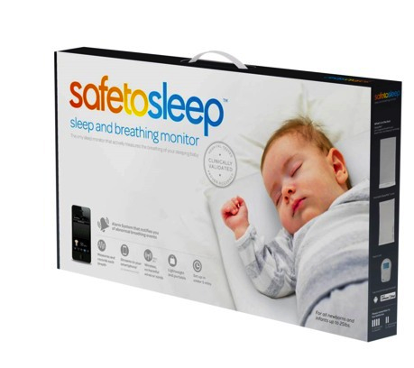 Safe to Sleep sleep and breathing monitor