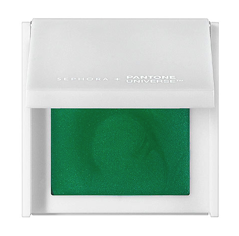Sephora + Pantone Universe shadow in emerald