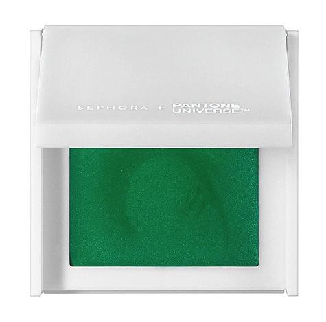 Sephora + Pantone Universe shadow in emerald