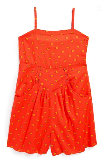 Stella McCartney Kids floral romper