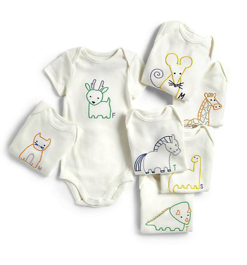 Stella McCartney kids bodysuit gift set