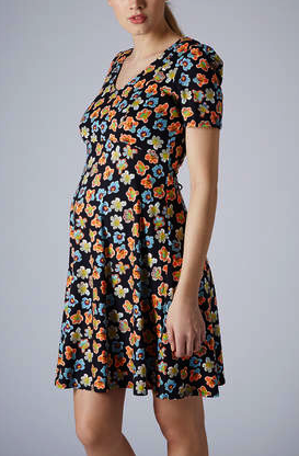 Topsop maternity dress