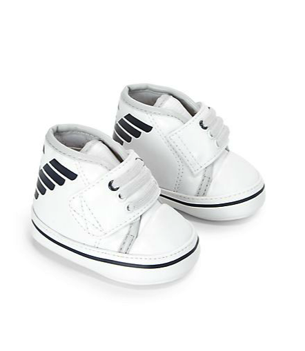 armani jr high-tops