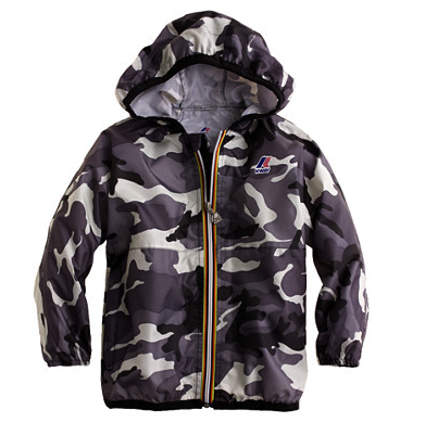 boys k-way jacket