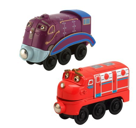 chuggington trains (set of 2)
