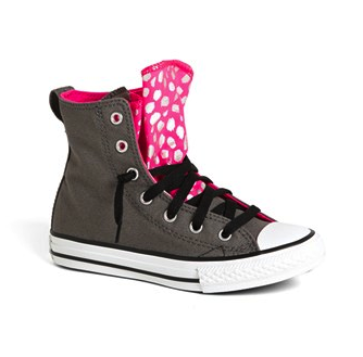 converse girls high-tops