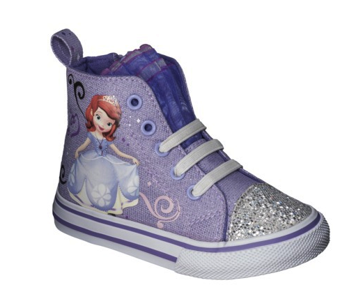 disney sophia high-top
