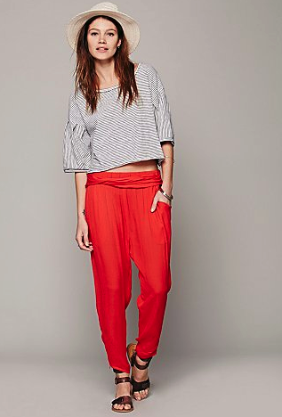 free people harem pants
