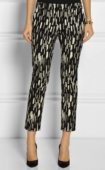 lela rose cropped pants