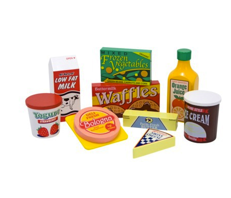melissa and doug fridge food