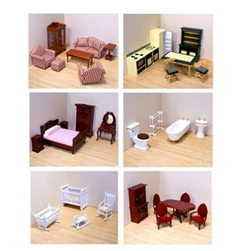 melissa and doug wooden dollhouse furniture