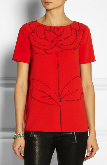 moschino cheap and chic top