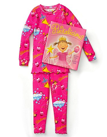 pinkalicious book and pj set