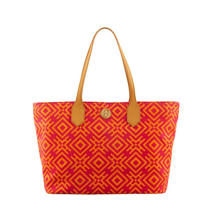 tory burch canvas tote