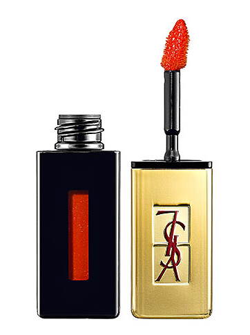 yves saint laurent lip gloss in 8 orange de chine