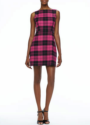 Aice + Olivia plaid dress