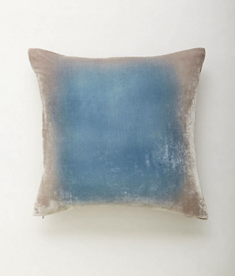 Anthropologie ombre pillows