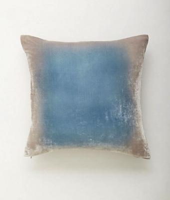 Anthropologie ombre pillows