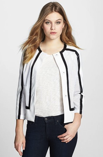 BB Dakota perforated jacket