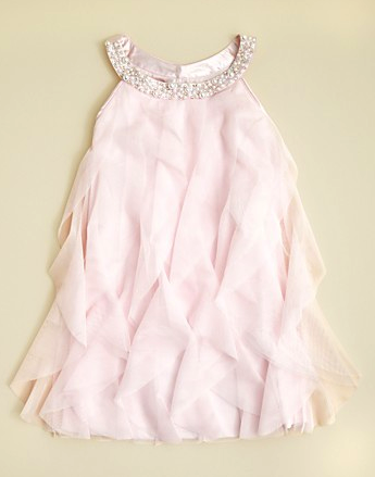 Biscotti ruffle dress