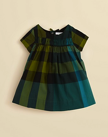 Burberry infant dress